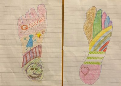 Another example Foot Art